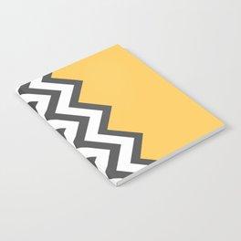 Color Blocked Chevron 6 Notebook