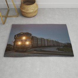 Twilight Freight Train Rug
