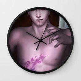 Dark spell - Kamael Lieneage II Wall Clock
