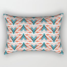 Fish tales 1a Rectangular Pillow