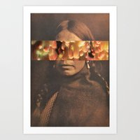 native Art Prints featuring Native by Djuno Tomsni