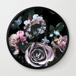 floral mood I Wall Clock