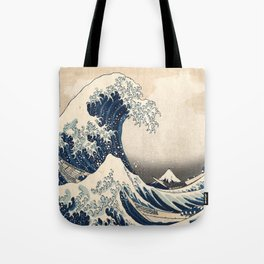 The Great Hokusai Wave Tote Bag