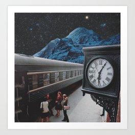 All aboard Art Print