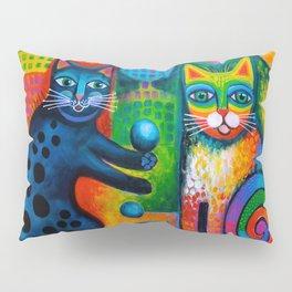 Juggle Puss Pillow Sham