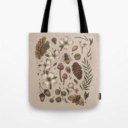 Nature Walks (Light Background) Tote Bag