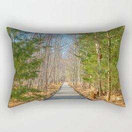 Jesup Boardwalk Trail Rectangular Pillow