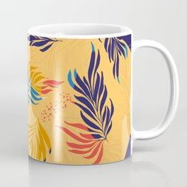 Primary Colors Leaves Coffee Mug