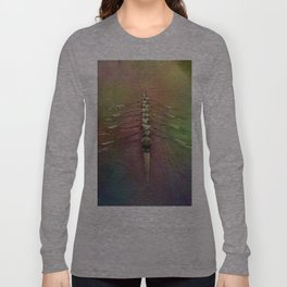 Rowing the Rainbow River Long Sleeve T-shirt