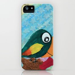 Sven - Quirky Bird iPhone Case