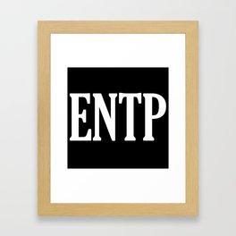 ENTP Framed Art Print