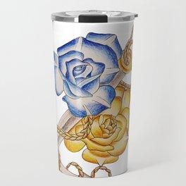 Anchor and roses Travel Mug