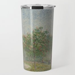 Garden with Courting Couples: Square Saint-Pierre Travel Mug