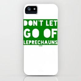 St Patrick's Day Leprechaun Ireland Gift iPhone Case