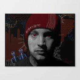 Tyler Joseph // Basquiat Canvas Print