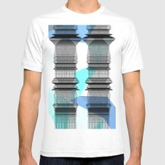 PIPELINE TOWERS MEDIUM Mens Fitted Tee White