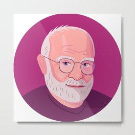 Queer Portrait - Oliver Sacks Metal Print