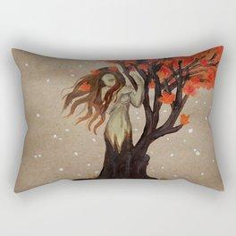 Fall Dryad Rectangular Pillow