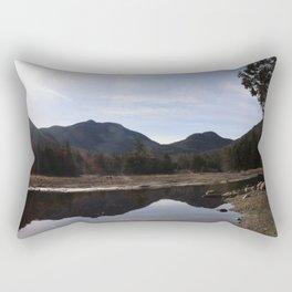 High Peaks Upstate New York Lake Placid Rectangular Pillow