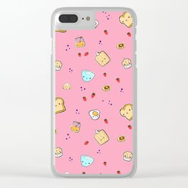 brunch me up Clear iPhone Case