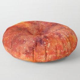 molten galaxy Floor Pillow
