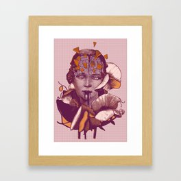 Mythical evolution Framed Art Print