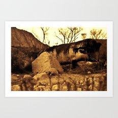 Sand Worm Carcass Art Print