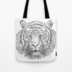 The Tiger's head Tote Bag
