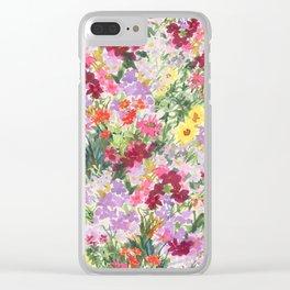Grand Flora Clear iPhone Case