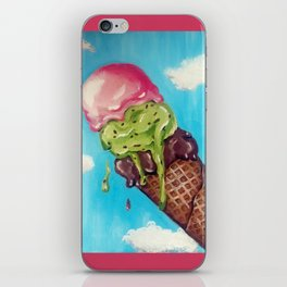 Melting Icecream iPhone Skin