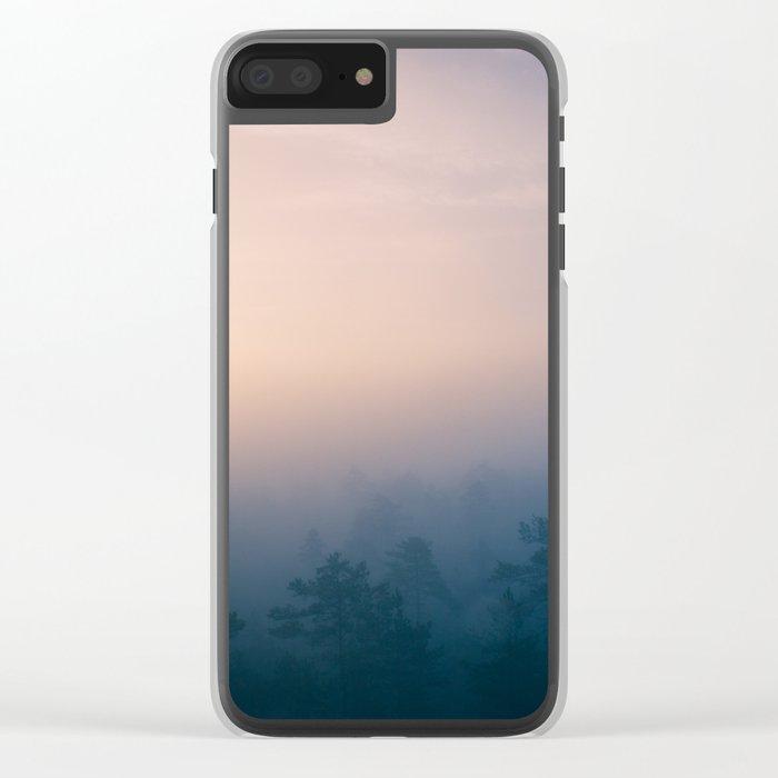 Sunrise in Heaven Clear iPhone Case