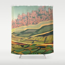 Growing Food Shower Curtain