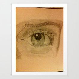 Wandering Eye Art Print