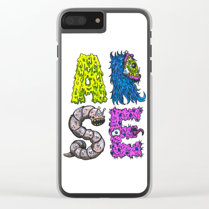 ARSE Clear iPhone Case