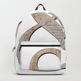 French Ampersand Backpack