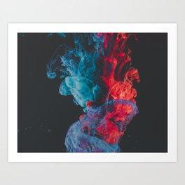 Crystal Ship Explodes Art Print