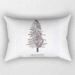 Tree Hugger II Rectangular Pillow