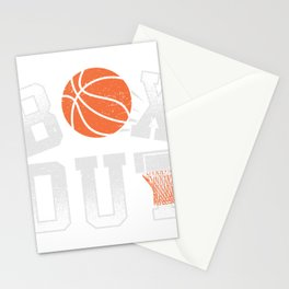 Basketball Coach Shirt Box Out rebound defense Stationery Cards