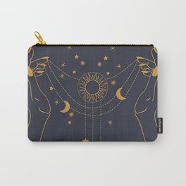 Mystic hands Carry-All Pouch