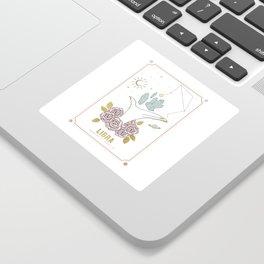 Libra Zodiac Series Sticker