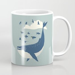 Fly in the sea Coffee Mug