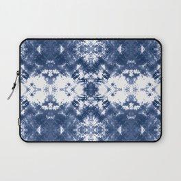 Shibori Tie Dye Indigo Blue Laptop Sleeve