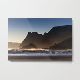The Great Tor in Gower Metal Print