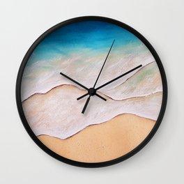Sea, watercolor Wall Clock