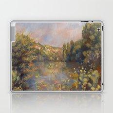 Lakeside Landscape by Renoir Laptop & iPad Skin