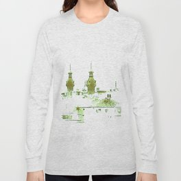 University of Tampa -- Green Long Sleeve T-shirt