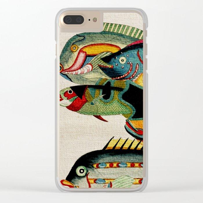 Fantastic Fish Tank Clear iPhone Case