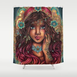 The Seer Shower Curtain