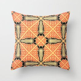 Horse Pattern No 1 Throw Pillow