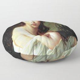 Louise Élisabeth Vigée Le Brun - Julie Le Brun as a Bather Floor Pillow
